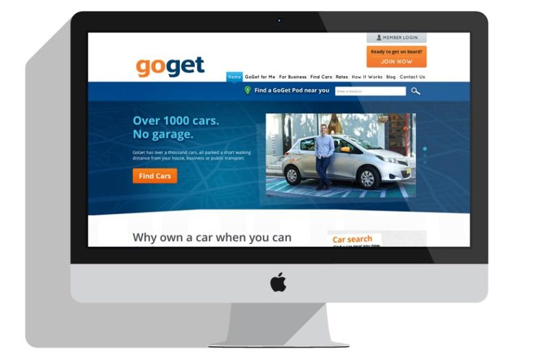 GoGet Website