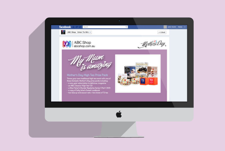 ABC Shop Mother's Day Facebook App