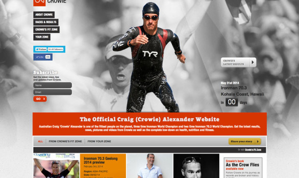 Craig Alexander Website