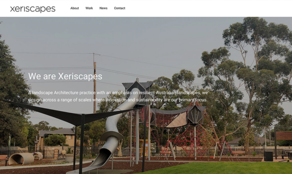 Xeriscapes Website